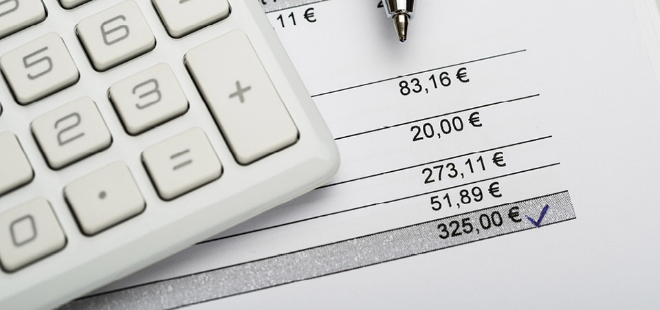 Finance performance VAT expenses receipts